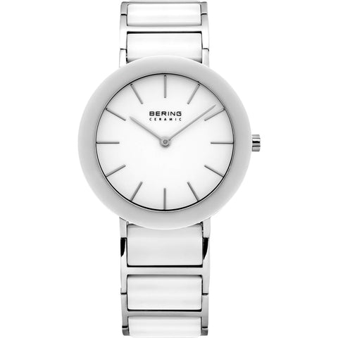 Bering Ceramic 11435-794 White 35 mm Women's Watch - COCOMI