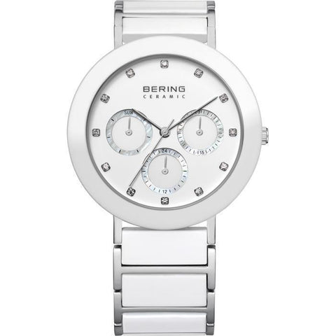 Bering Ceramic 11438-754 White 38 mm Women's Watch - COCOMI