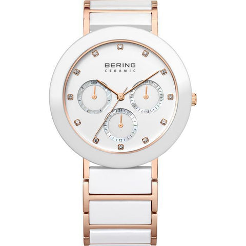 Bering Ceramic 11438-766 White 38 mm Women's Watch - COCOMI