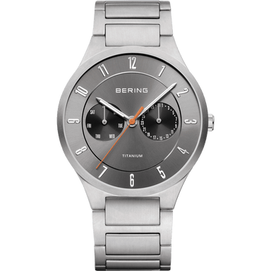 Titanium 11539-779 Grey 39 mm Men's Watch-Bering-COCOMI