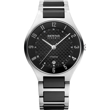 Titanium 11739-702 Grey 39 mm Men's Watch-Bering-COCOMI