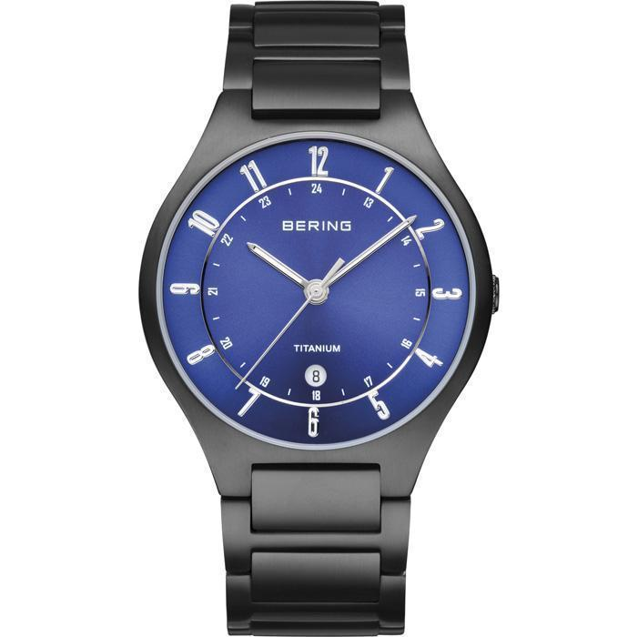 Bering Classic 11739-727 Blue 39 mm Men's Watch - COCOMI