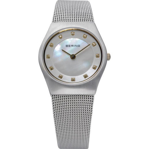 Bering Classic 11927-004 Silver 27 mm Women's Watch - COCOMI