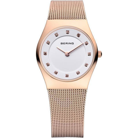 Bering Classic 11927-366 White 27 mm Women's Watch - COCOMI