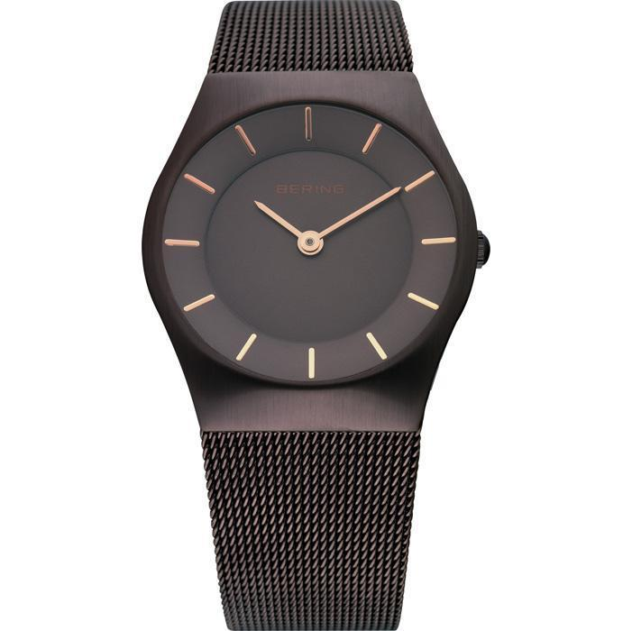Classic 11930-105 Brown 30 mm Women's Watch-Bering-COCOMI