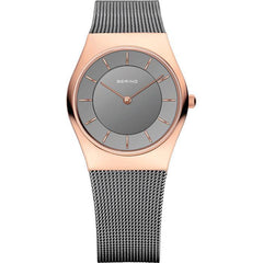 Bering Classic 11930-369 Grey 30 mm Women's Watch - COCOMI