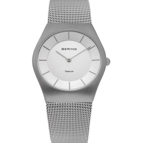 Bering Classic 11935-000 Silver 35 mm Men's Watch - COCOMI