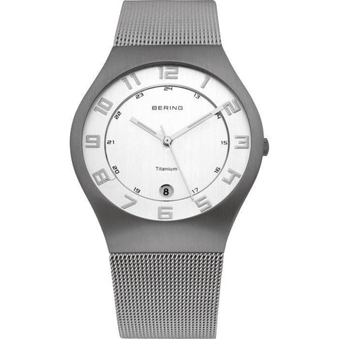 BERING Titanium 11937-000 Men's Watch