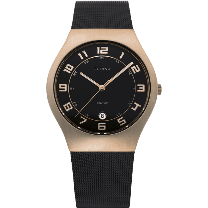 Bering Classic Rose Gold 37mm Unisex Watch (11937-262)-BERING-COCOMI