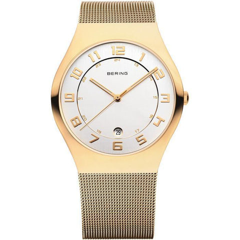 Bering Classic 11937-334 White 37 mm Women's Watch - COCOMI