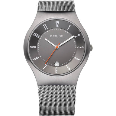 Titanium 11937-377 Grey 37 mm Men's Watch-Bering-COCOMI