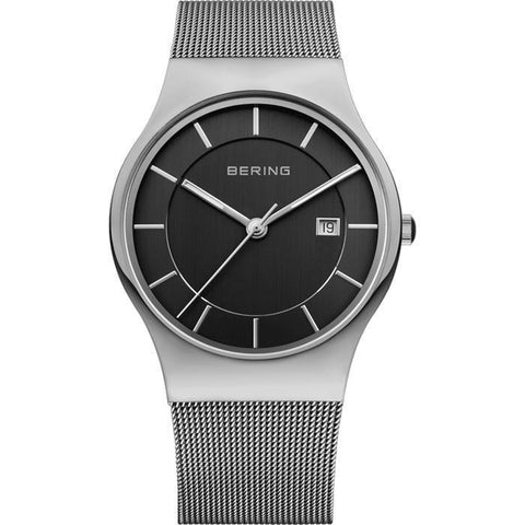 Bering Classic 11938-002 Black 38 mm Men's Watch - COCOMI