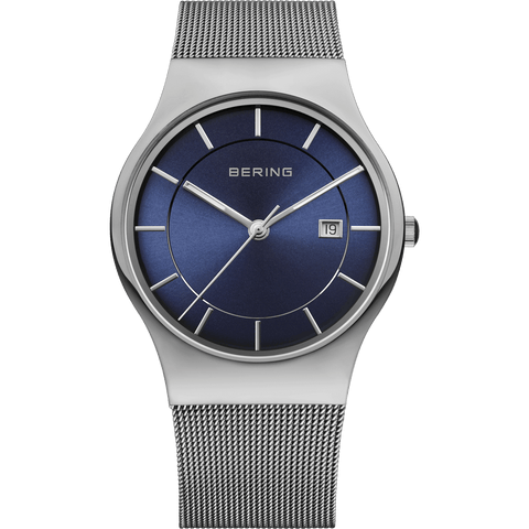 Bering Classic 11938-003 Blue 40 mm Men's Watch - COCOMI
