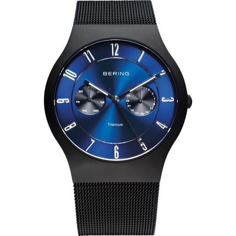 Bering Classic 11939-078 Blue 39 mm Men's Watch - COCOMI