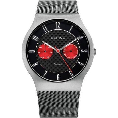 Bering Classic 11939-079 Black 39 mm Men's Watch - COCOMI
