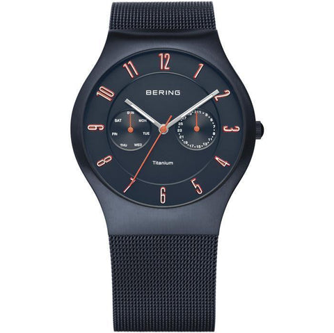 Bering Classic 11939-393 Blue 39 mm Men's Watch - COCOMI
