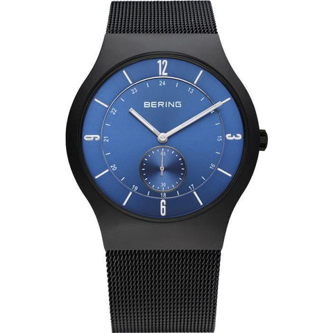 Bering Classic 11940-227 Blue 40 mm Men's Watch - COCOMI
