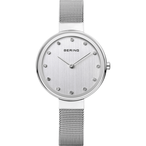 Bering Classic 12034-000 Silver 34 mm Women's Watch - COCOMI