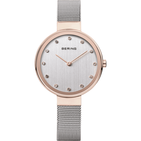 Bering Classic 12034-064 Silver 34 mm Women's Watch - COCOMI