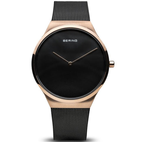 Classic 12138-166 Rose Gold 38 mm Men's Watch x Classic 12131-166 Rose Gold 31 mm Women's Watch-COCOMI