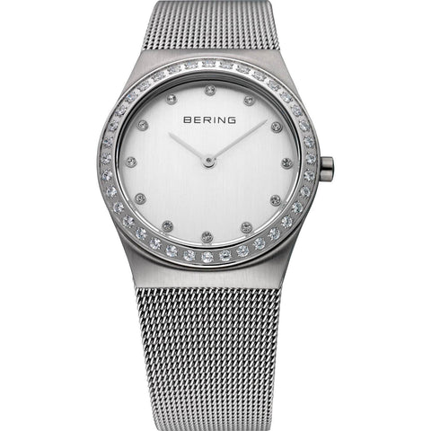 Bering Classic 12430-000 White 30 mm Women's Watch - COCOMI