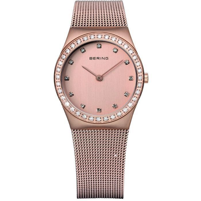 Bering Classic 12430-366 Rose-Gold 30 mm Women's Watch - COCOMI