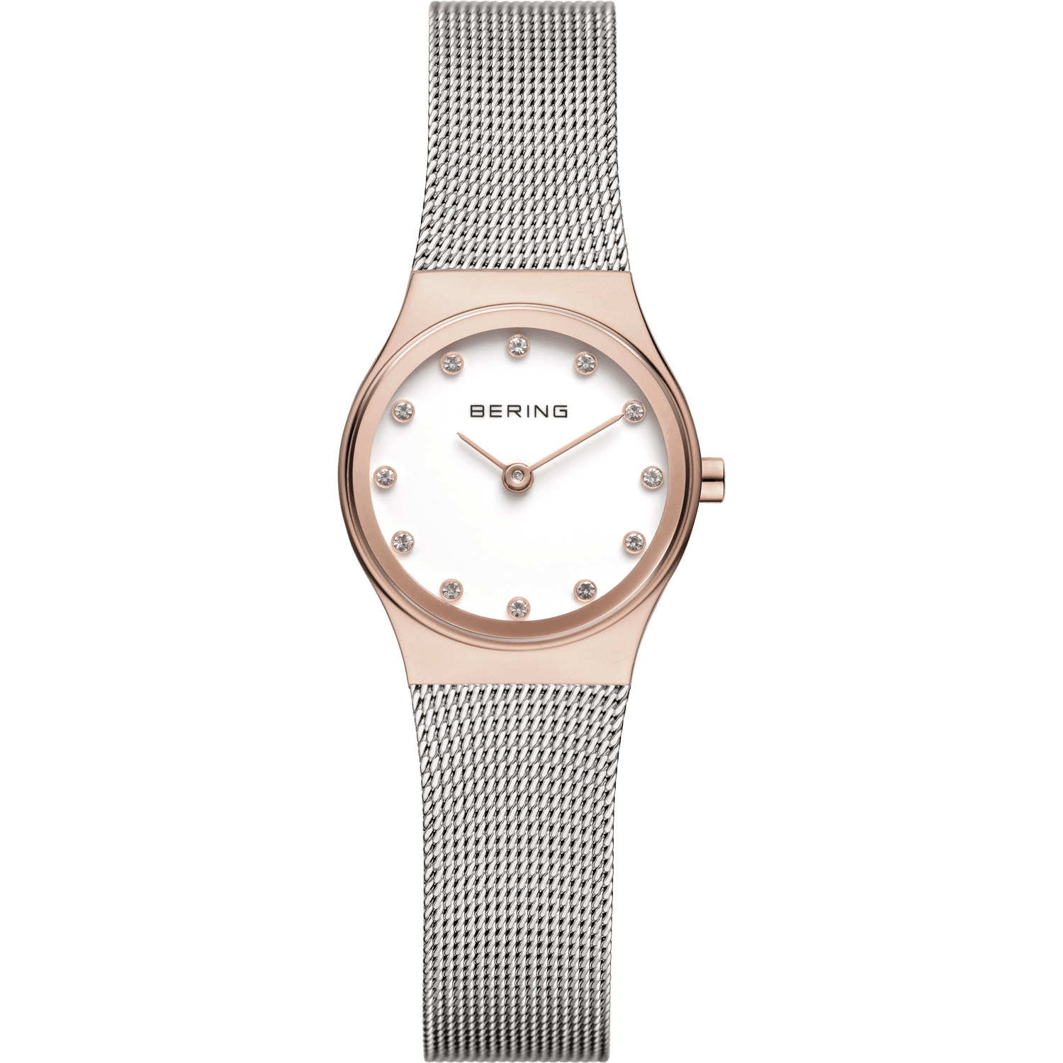 Bering Classic 12924-064 Silver 24 mm Women's Watch - COCOMI