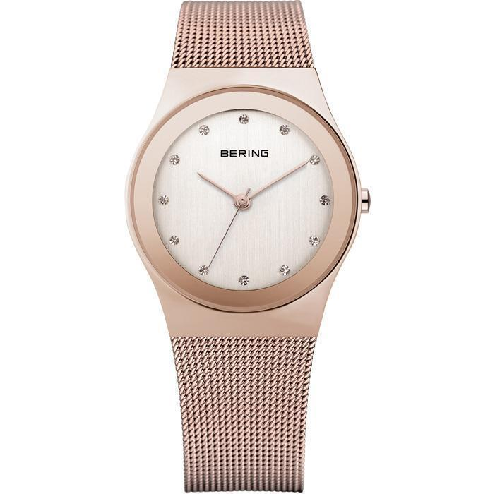 Bering Classic 12927-366 Rose-Gold 27 mm Women's Watch - COCOMI