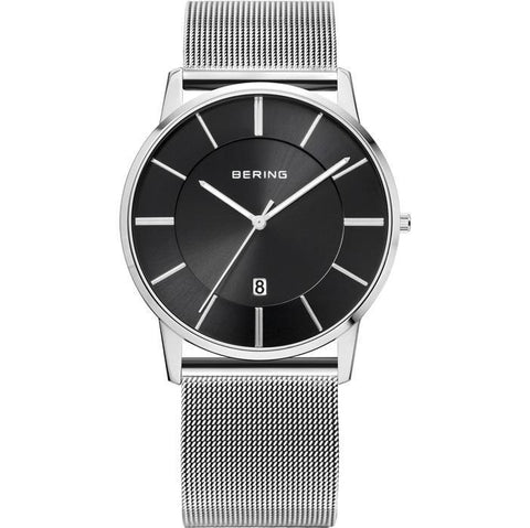 Bering Classic 13139-002 Black 40 mm Men's Watch - COCOMI