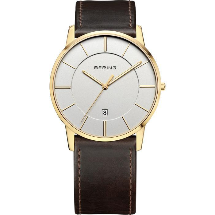 Classic 13139-539 Silver 40 mm Men's Watch-Bering-COCOMI