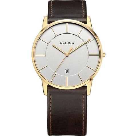 Bering Classic 13139-539 Silver 40 mm Men's Watch - COCOMI