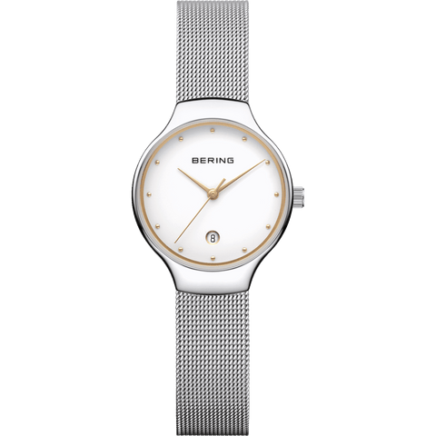 Bering Classic 13326-001 White 26 mm Women's Watch - COCOMI
