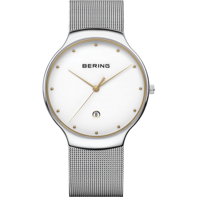 Classic 13338-001 White 38 mm Unisex Watch-Bering-COCOMI