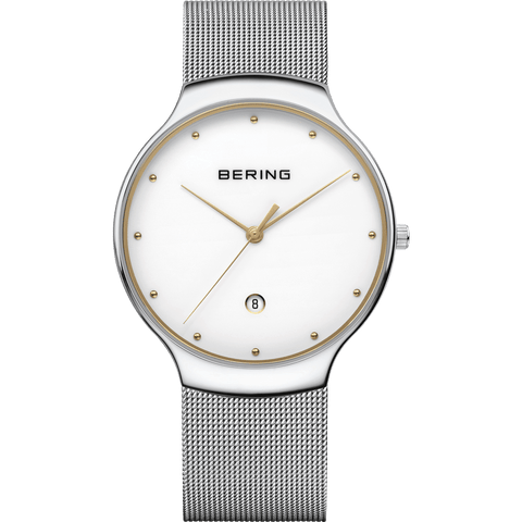 Bering Classic 13338-001 White 38 mm Unisex Watch - COCOMI