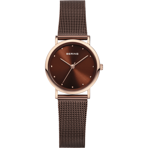 Bering Classic 13426-265 Brown 26 mm Women's Watch - COCOMI