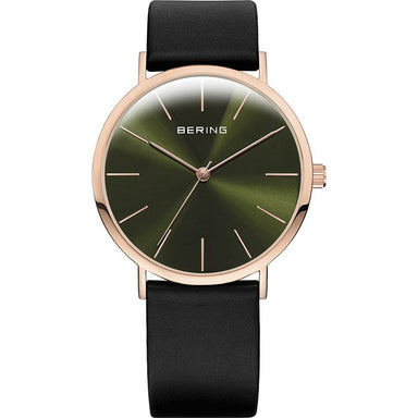 Bering Classic Green 36 mm Men's Watch (13436-469)-Bering-COCOMI