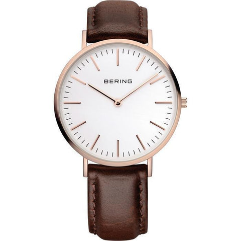 Bering Classic 13738-564 White 38 mm Men's Watch - COCOMI