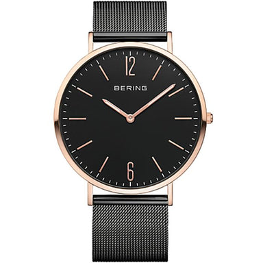 Bering Classic Black 41 mm Men's Watch (14241-166)-Bering-COCOMI