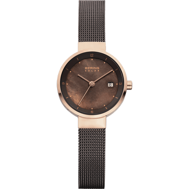Solar 14426-265 Brown 26 mm Women's Watch-Bering-COCOMI