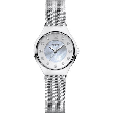 Solar 14427-004 White 27 mm Women's Watch-Bering-COCOMI