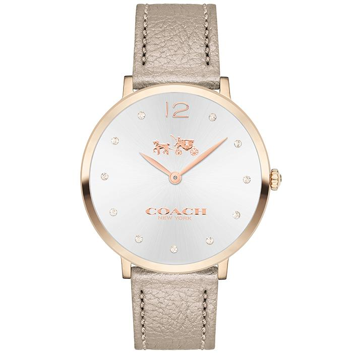 COACH COACH SLIM CHAMPAGNE GOLD Women's Watch (14502684)-COACH-COCOMI
