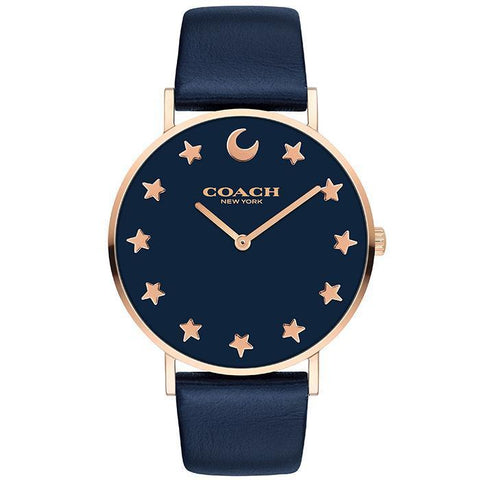 COACH PERRY NAVY Women's Watch (14503043)-COCOMI