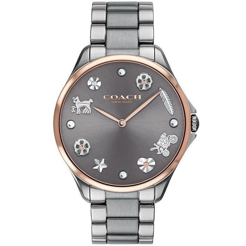COACH ASTOR GREY Women's Watch (14503063)-COCOMI