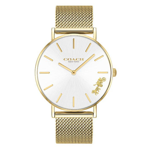COACH PERRY GOLD Women's Watch (14503125)-COCOMI