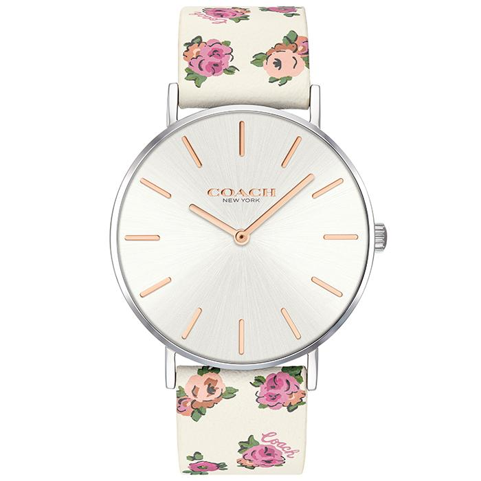 COACH PERRY SILVER WHITE 36 MM WOMEN'S WATCH (14503297)-COCOMI