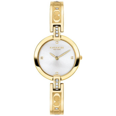COACH CHRYSTIE SILVER WHITE 26 MM WOMEN'S WATCH (14503318)-COCOMI