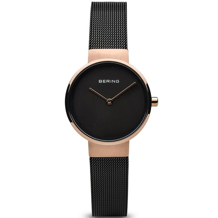 Bering Classic Black 26 mm Women's Watch (14526-166)-Bering-COCOMI