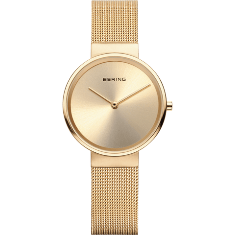 Bering Classic 14531-333 Gold 31 mm Women's Watch - COCOMI