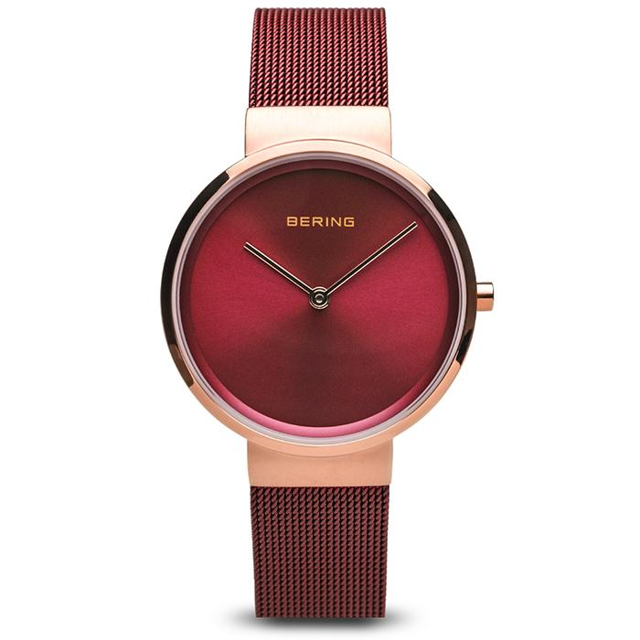 Bering Classic Red 31 mm Women's Watch (14531-363)-BERING-COCOMI