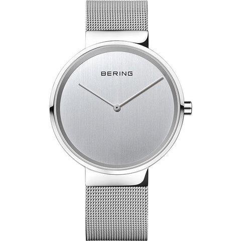 Bering Classic Silver 39 mm Unisex Watch (14539-000)-COCOMI
